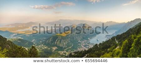 Dağlar park Karadağ dağ görmek Stok fotoğraf © Steffus
