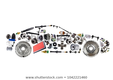 car parts concept icons stock photo © genestro