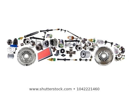 Car Parts Concept Icons Stock photo © Genestro