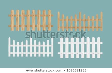 Verschillend ontwerp houten illustratie gebouw hout Stockfoto © bluering