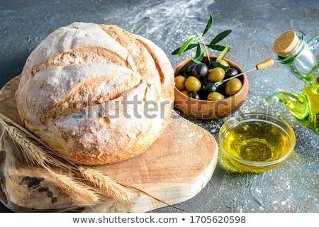farina · tradizionale · pane · alimentare · sfondo · cena - foto d'archivio © -baks-