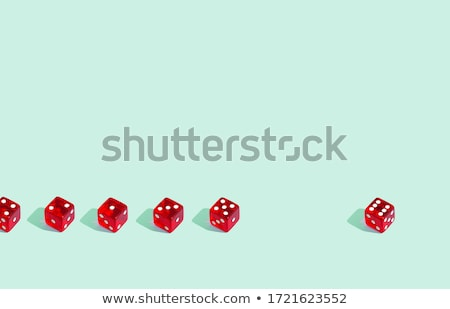 one red dices stock photo © daboost