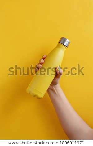 A yellow bottle Stock photo © bluering