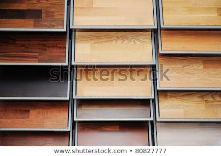 top samples of various color palette   wooden floor stock photo © zurijeta