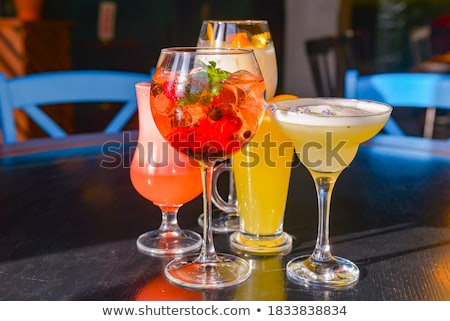 Different drinks Stock photo © bluering