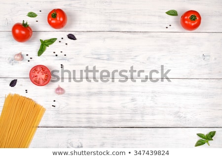 Red Fresh Pepper on the white table Stock photo © user_11224430
