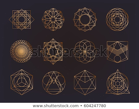sacred geometry lineart Stock photo © SArts