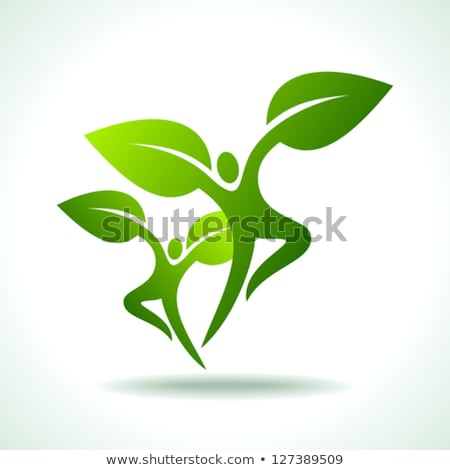 Nature and health care symbol collection Stock photo © Tefi