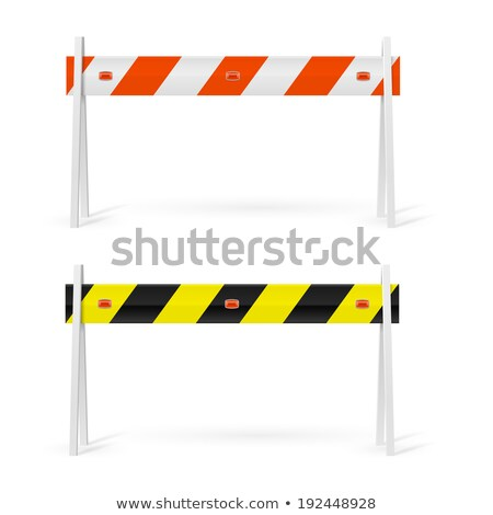 Repair barrier #2 Stock photo © Oakozhan