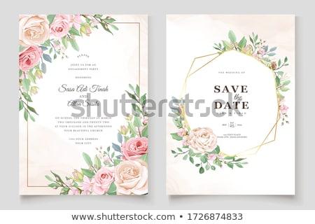 címke · szöveg · szeretet · fehér · vörös · szalag · esküvő - stock fotó © viva