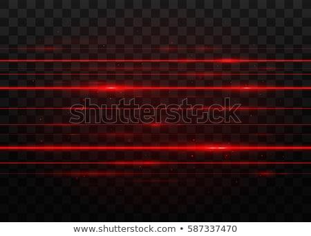Abstrato vermelho caos linhas preto longa exposição Foto stock © Mikko