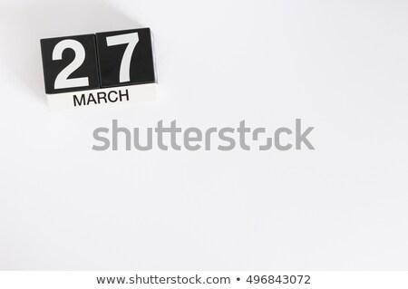 3D · vermelho · cartas · inverno · branco - foto stock © oakozhan