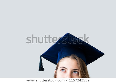 graduate girl at school Stock photo © adrenalina