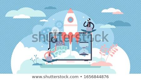 Visie verborgen rijkdom gelegenheid business Stockfoto © Lightsource