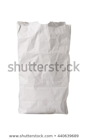 White Paper Bag Upright Stock photo © icemanj