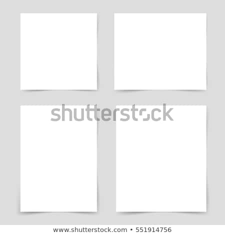 four colored pushpin on a white background stock photo © imaagio
