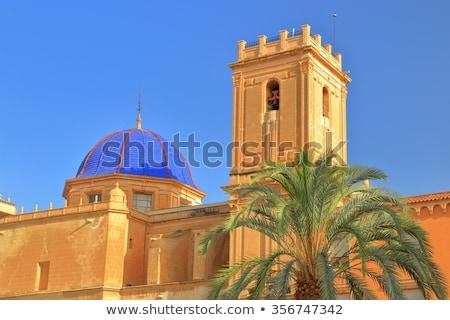 Mikulás bazilika Spanyolország templom vakáció kint Stock fotó © IS2