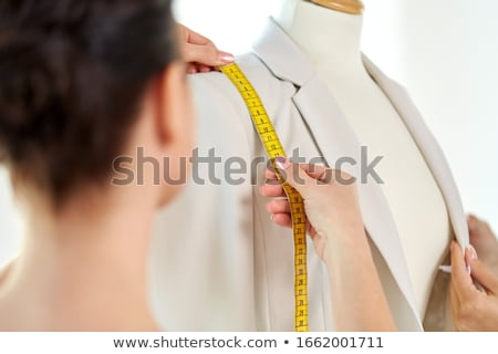 моде · дизайнера · платье · студию · люди - Сток-фото © dolgachov