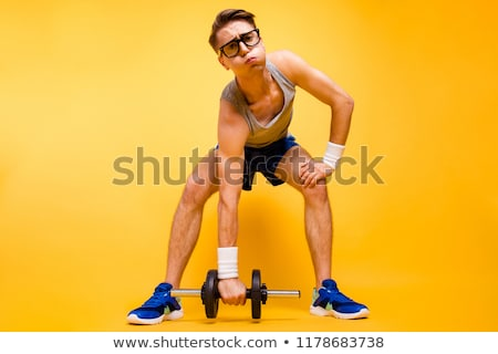 Lift Hard, Lift Strong Stock photo © MilanMarkovic78