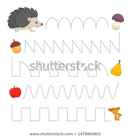 A Game Template Fruit Picking Stock photo © bluering