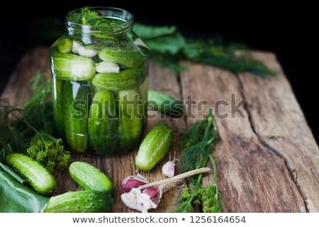 корнишон древесины фон органический Сток-фото © M-studio