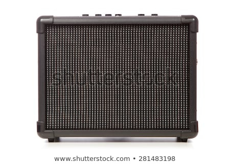 Guitar amplifier and speakers Stock photo © tracer