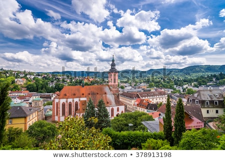 Stiftskirche in Baden Baden Stock photo © benkrut