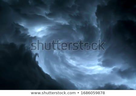 tornado · ciclone · furacão · ícone · tempo · fundo - foto stock © bluering