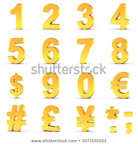 Counting numbers six and seven Stock photo © colematt