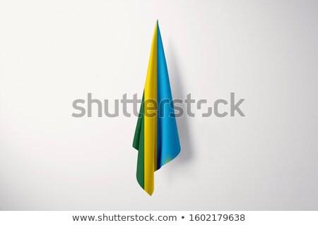 Rwanda flag isolated on white Stock photo © daboost
