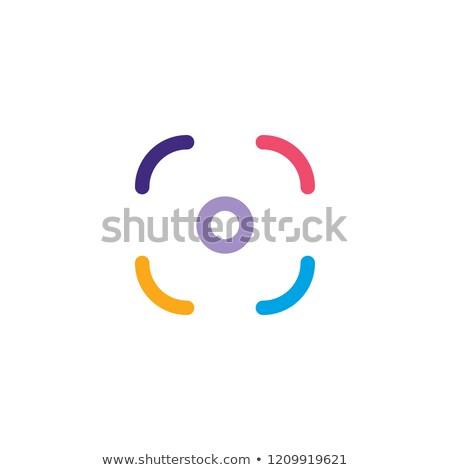 Colorido homossexual orgulho câmera fotografia aplicação Foto stock © vector1st