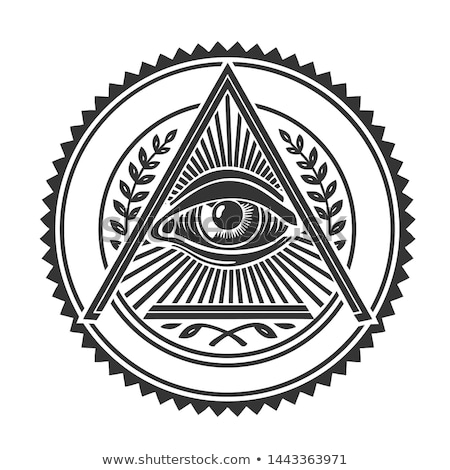 one eye of freemasonry Stock photo © vector1st