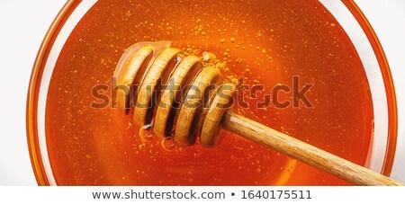 méh · keret · méz · dolgozik · méhsejt · napos · idő - stock fotó © artjazz