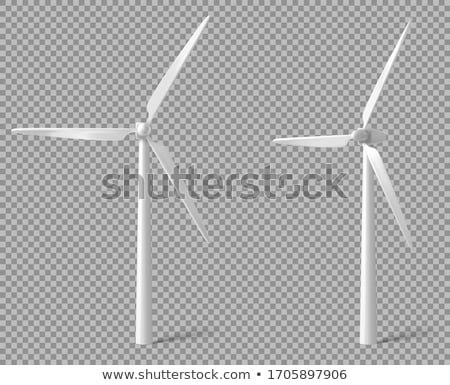 Wind Tower Turbine Stock photo © ajn