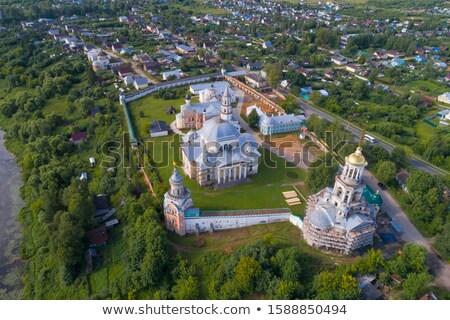 Klooster kerk regio Rusland hemel Stockfoto © borisb17