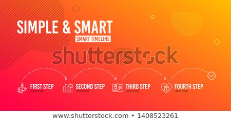 Chart with Columns, Block Diagram, Graph Vector Stock photo © robuart