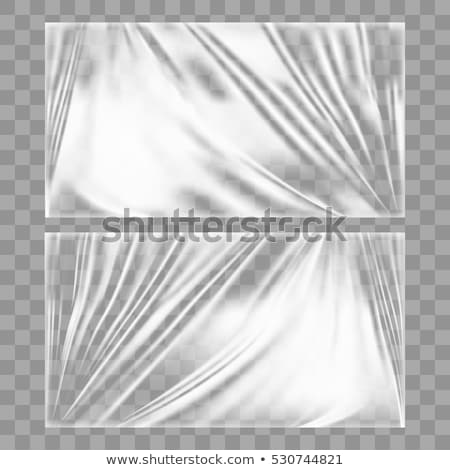 White Blank Polyethylene Plastic Sachet Bag Vector Stock photo © pikepicture