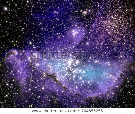ストックフォト: オープン · クラスタ · 星 · 小 · 雲 · 宇宙飛行士