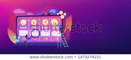 kereskedés · asztal · gazdasági · adat · elemzés · piac - stock fotó © rastudio