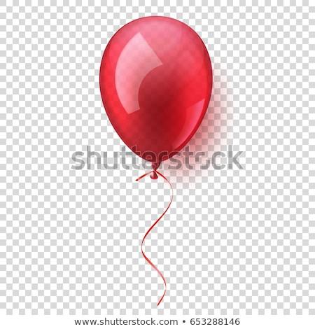 гелий шаре Flying реалистичный Сток-фото © Andrei_