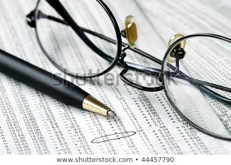 mútuo · fundo · rua · financiar · financeiro · foco - foto stock © johnkwan