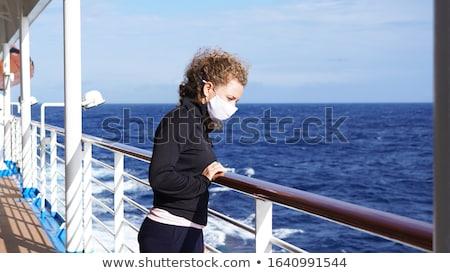 Cruiseschip coronavirus openbare gezondheid risico boot Stockfoto © Lightsource