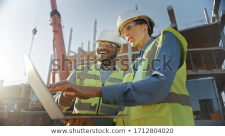 Black Construction Worker stock photo © piedmontphoto
