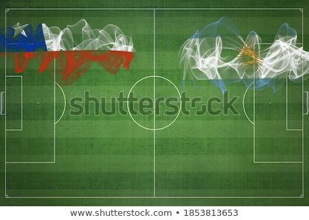 Argentina vs Chile football match Stock photo © olira