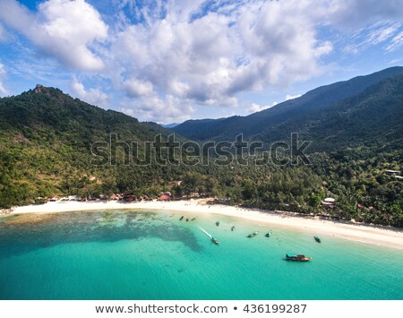 Strand eiland Thailand panoramisch thong Stockfoto © bloodua