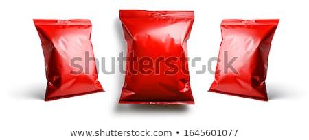 Rojo envases plantilla diseno diferente blanco Foto stock © butenkow