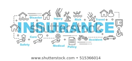 Auto lijn ontwerp stijl banners ingesteld Stockfoto © Decorwithme