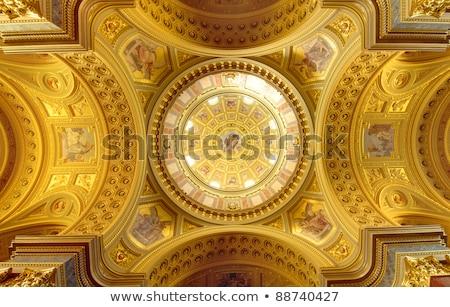 カトリック教徒 大聖堂 インテリア 絵画 ブダペスト 美しい ストックフォト © artjazz