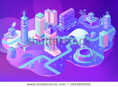 Outer space - set of modern vector backgrounds Stock photo © Decorwithme