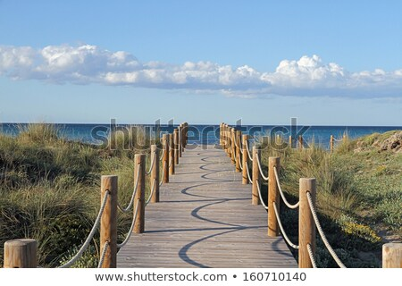 Wooden Runway. Stock photo © Photooiasson